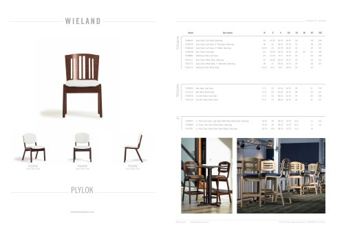 plylok-side chair, wood seat