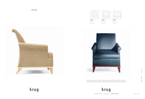 Astonishing Cello Soft Seating Krug Pdf Catalogs Technical Cjindustries Chair Design For Home Cjindustriesco