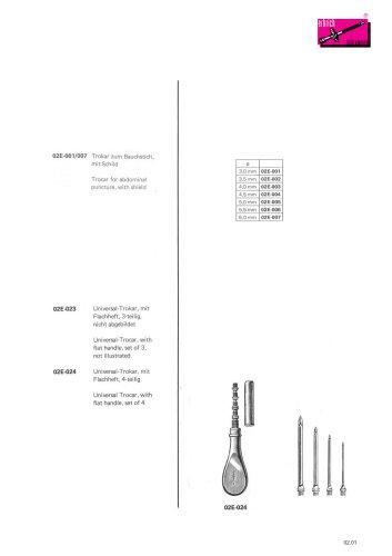 Punkture and aspiration