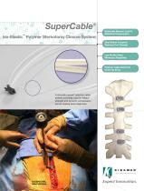SuperCable Sternotomy Closure