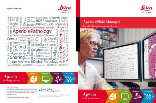Aperio eSlide Manager