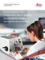 HistoCore Rotary Microtome Solutions
