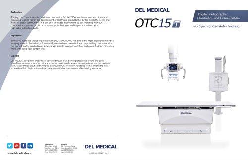 DEL MEDICAL OTC15T