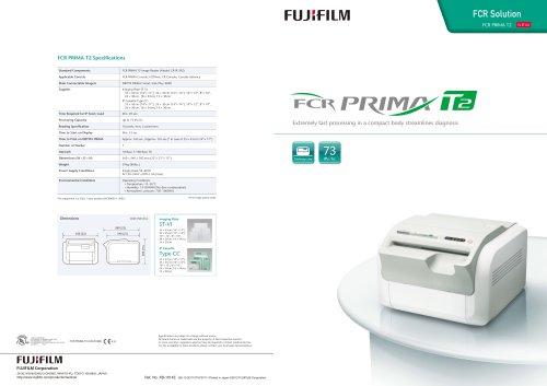 FujiFilm FCR Prima T2