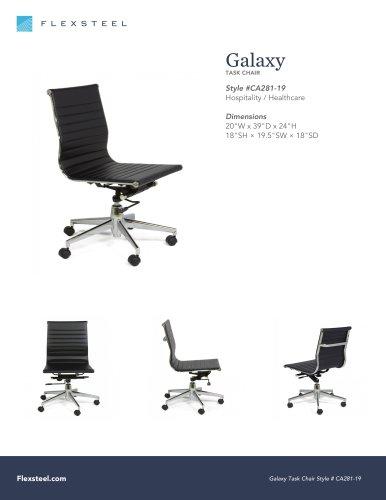 Galaxy Task Chair 20 W X 39 D X 24 H Flexsteel Pdf Catalogs Technical Documentation