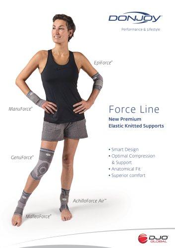 DonJoy Force Line Datasheet