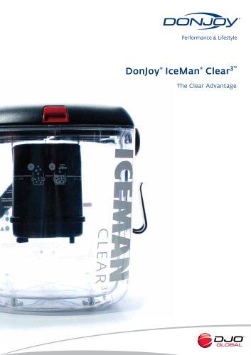 DonJoy IceMan Clear3 Data Sheet