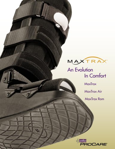 classic top fashion the cheapest MaxTrax - DonJoy - PDF Catalogs | Technical Documentation