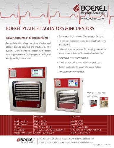 BOEKEL PLATELET AGITATORS & INCUBATORS