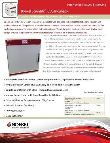 Boekel Scientific CO2 Incubator Datasheet