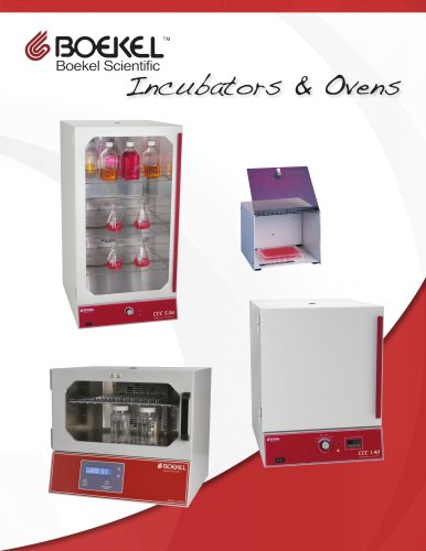 Incubators & Ovens