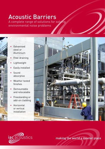 Acoustic Barriers Brochure