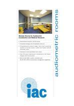 Audiometric Rooms - 1