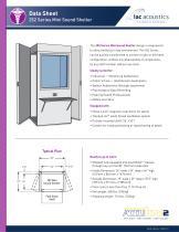 Data Sheet 252 Series Mini Sound Shelter - 1