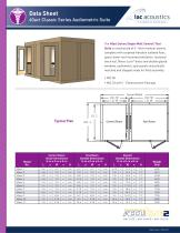 Data Sheet 40act Classic Series Audiometric Suite - 1