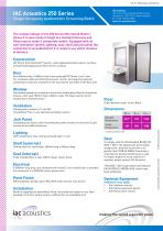 IAC Acoustics 250 Series Single Occupancy Audiometric Screening Booth - 1