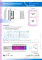 Specification and Dimensional Data Sheet 120act Series Audiometric Booth with Control Room - 1