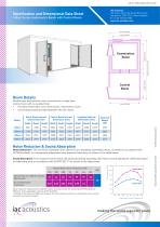 Specification and Dimensional Data Sheet 140act Series Audiometric Booth with Control Room - 1
