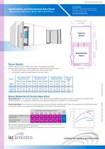 Specification and Dimensional Data Sheet 160act Series Audiometric Booth with Control Room - 1