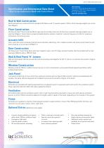 Specification and Dimensional Data Sheet 160act Series Audiometric Booth with Control Room - 2