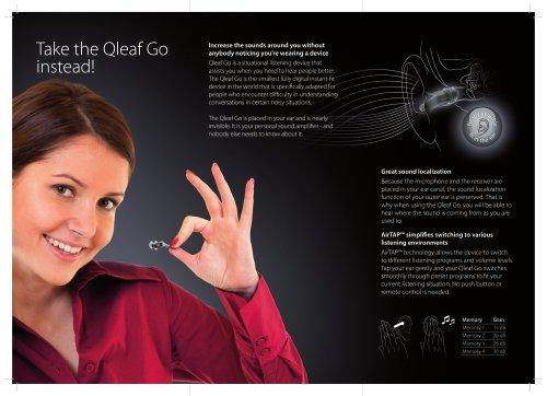 Take the Qleaf Go instead!