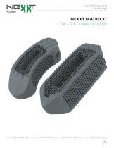 NEXXT MATRIXX® TLIF / TLIF Oblique Interbodies