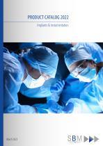 Products Catalogue SBM