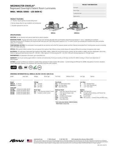 MRDL / MRSDL SERIES ? LED (NON-IC)