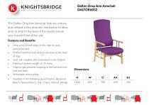 Dalton Drop Arm Armchair DALTOK6032