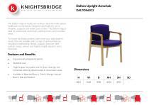 Dalton Upright Armchair DALTOK6012