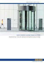 GEZE Semi-circular and circular sliding door systems