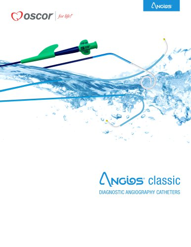 Angios classic DIAGNOSTIC ANGIOGRAPHY CATHETERS