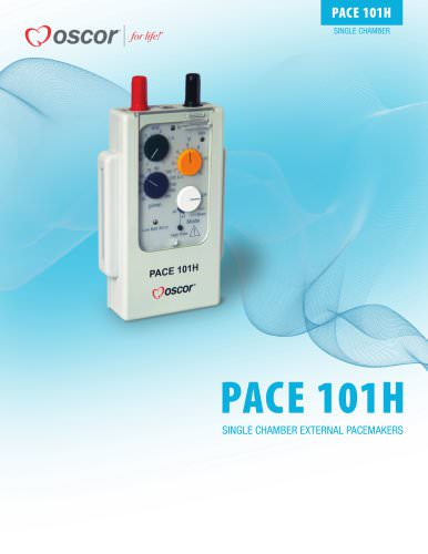 PACE 101H SINGLE CHAMBER EXTERNAL PACEMAKERS