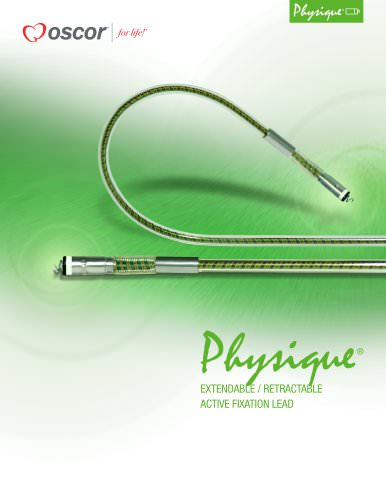 Physique®EXTENDABLE / RETRACTABLE ACTIVE FIXATION LEAD