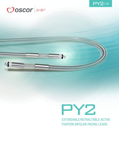 PY2 EXTENDABLE/RETRACTABLE ACTIVE FIXATION BIPOLAR PACING LEADS