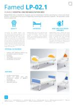 HOSPITAL BEDS TRANSPORT TROLLEYS FOR PATIENTS - PRODUCT CATALOGUE - 10