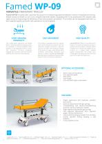 HOSPITAL BEDS TRANSPORT TROLLEYS FOR PATIENTS - PRODUCT CATALOGUE - 12