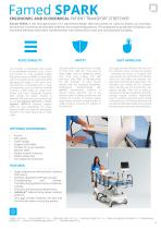HOSPITAL BEDS TRANSPORT TROLLEYS FOR PATIENTS - PRODUCT CATALOGUE - 13
