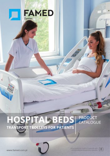 HOSPITAL BEDS TRANSPORT TROLLEYS FOR PATIENTS - PRODUCT CATALOGUE