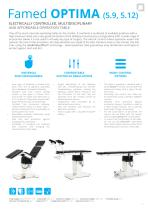 OPERATING TABLES - CATALOGUE OF PRODUCTS - 7