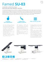 OPERATING TABLES - CATALOGUE OF PRODUCTS - 8