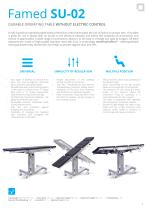 OPERATING TABLES - CATALOGUE OF PRODUCTS - 9