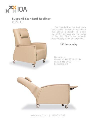 Suspend Standard Recliner #624-10