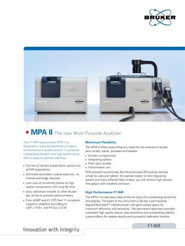 MPA II Flyer