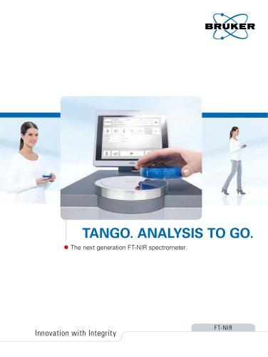 TANGO. Analysis To Go.