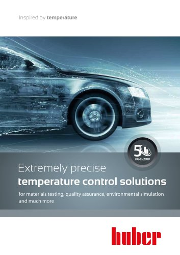 Extremely precise temperature control solutions