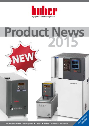 Product News 2015