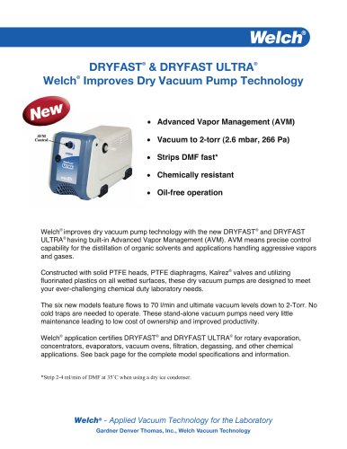 DRYFAST® & DRYFAST ULTRA®