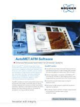 AutoMet AFM Software