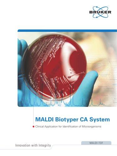 MALDI Biotyper CA System